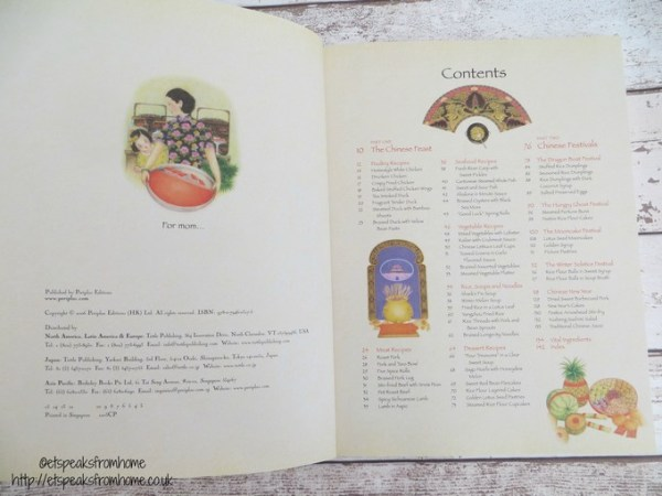 chinese feast & festivals contents