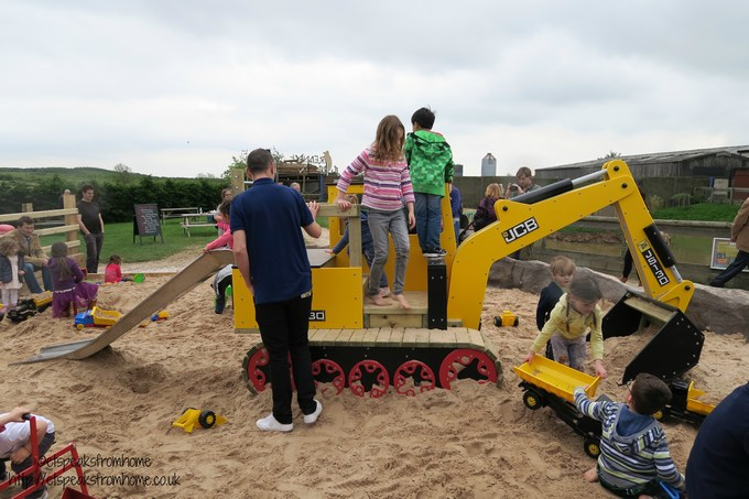jcb big dig zone opens at national forest adventure farm et