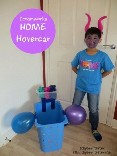 dreamworks home hovercar