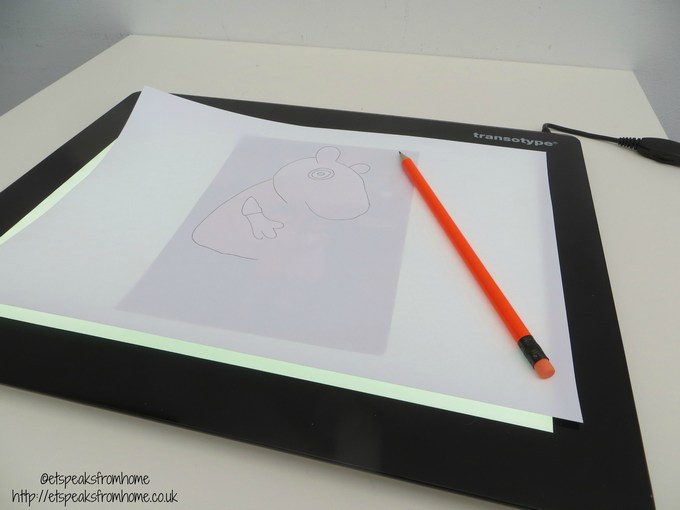 A4 LED Drawing Light Table
