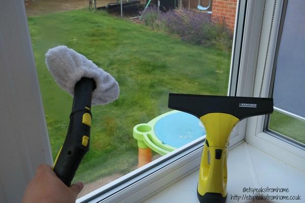 karcher steam cleaner window