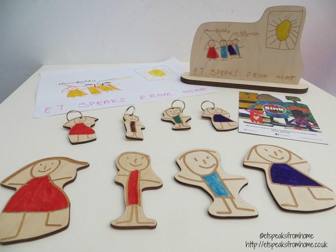 bink creations figure, fridge magnet, keyring