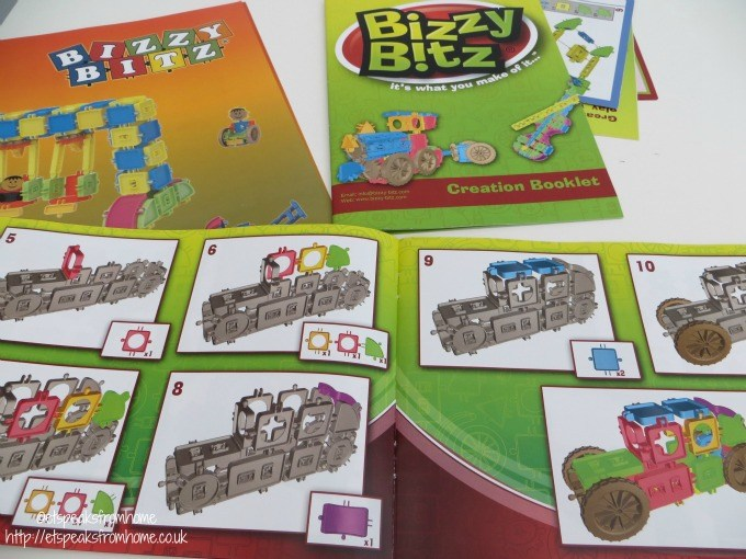 bizzy bitz instructions