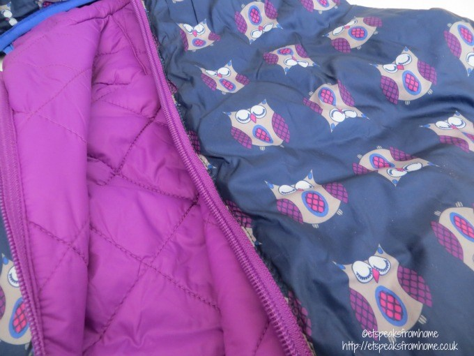 hi-gear girl transformer owl jacket