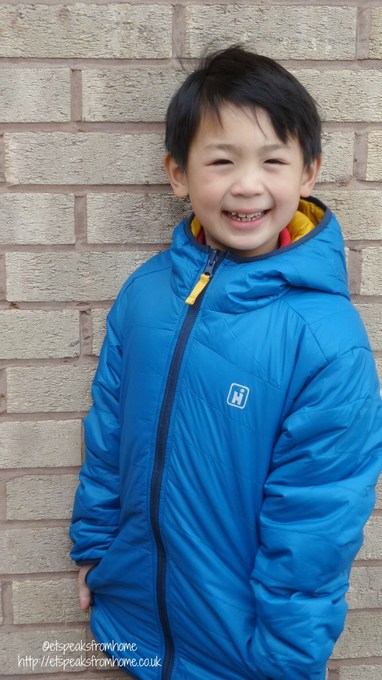 hi-gear transformer boy insulated jacket