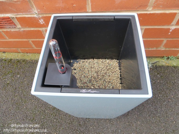lechuza self watering planter water level