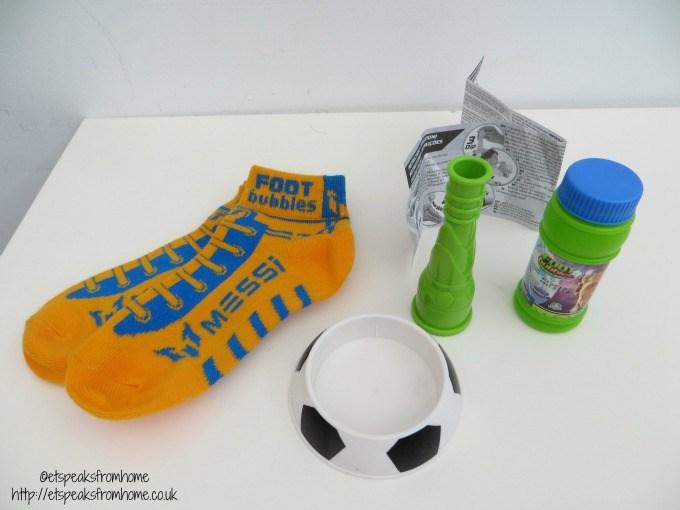messi foot bubbles review