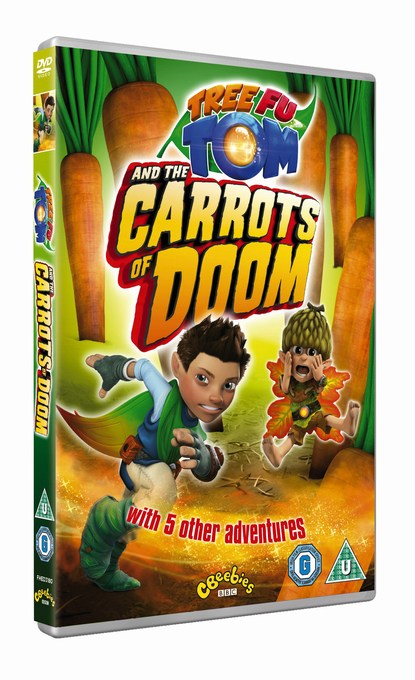 tree fu tom Carrots of Doom DVD