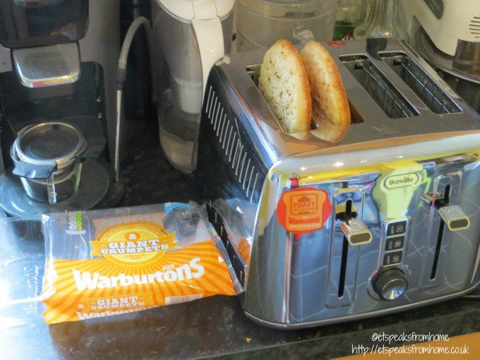 Warburtons Giant Crumpets Et Speaks From Home