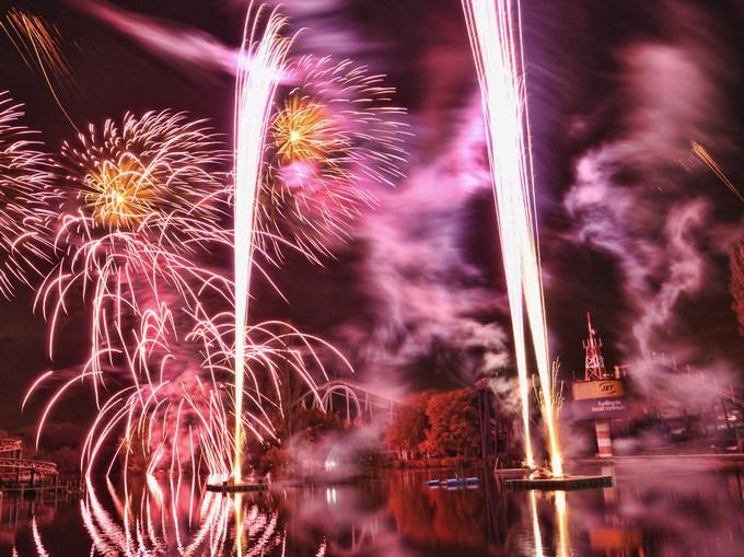 Drayton Manor Theme Park Fireworks Spectacular
