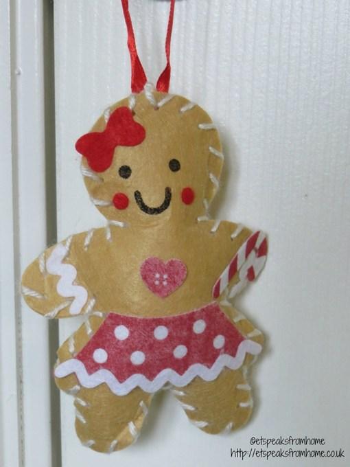baker ross gingerbread girl craft