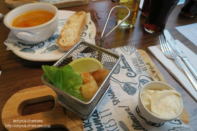 bella italia tempura prawns