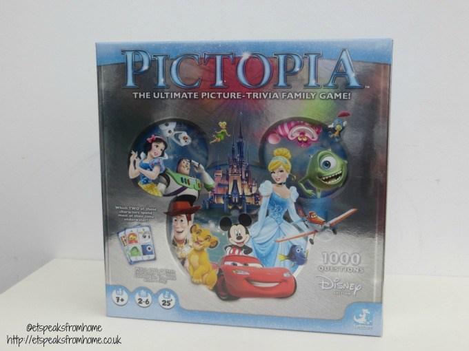 disney pictopia board game review