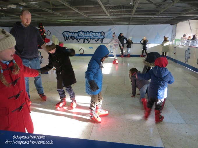 drayton's christmas ice rink