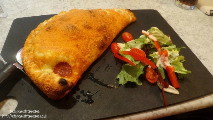 pizza express walsall calzone