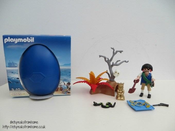 playmobil pirate on treasure hunt 4945