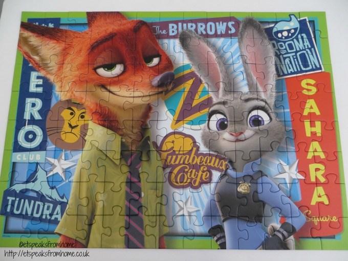 zootropolis ravensburger puzzle xxl 100 piece