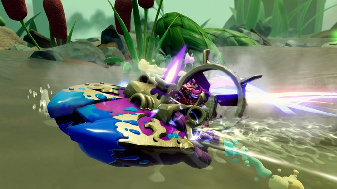Splatter Splasher in action