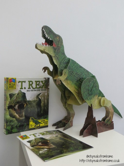 mega model t rex book