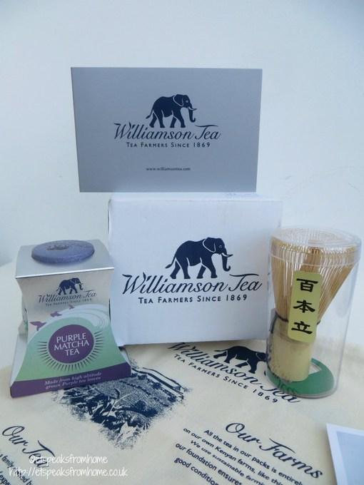 williamson tea purple matcha tea