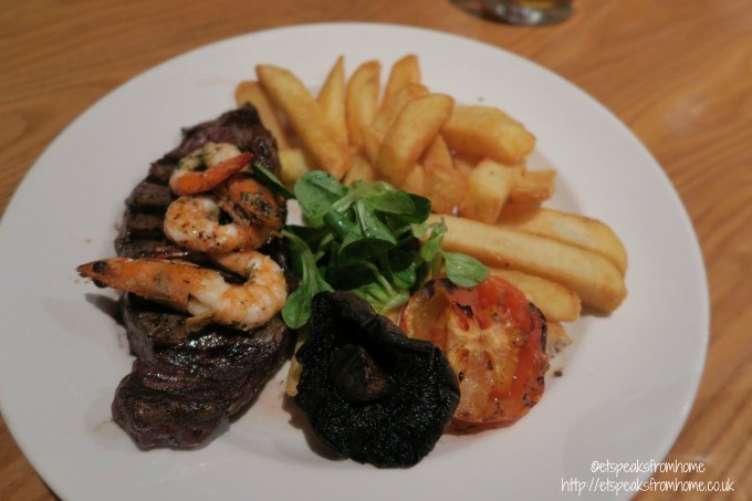 beefeater surf and turf