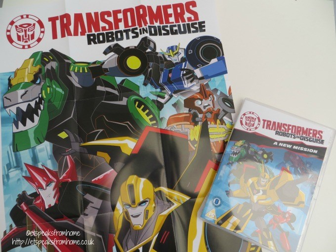 transformers robots in disguise dvd
