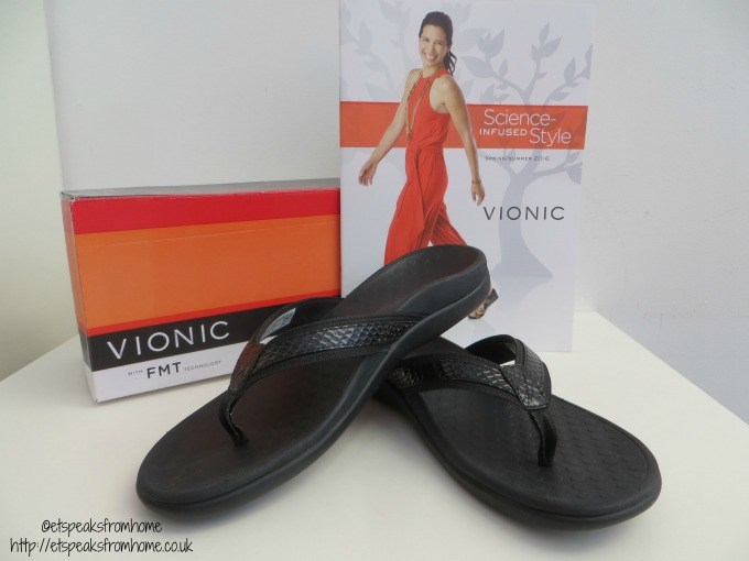 vionic shoe islander black review