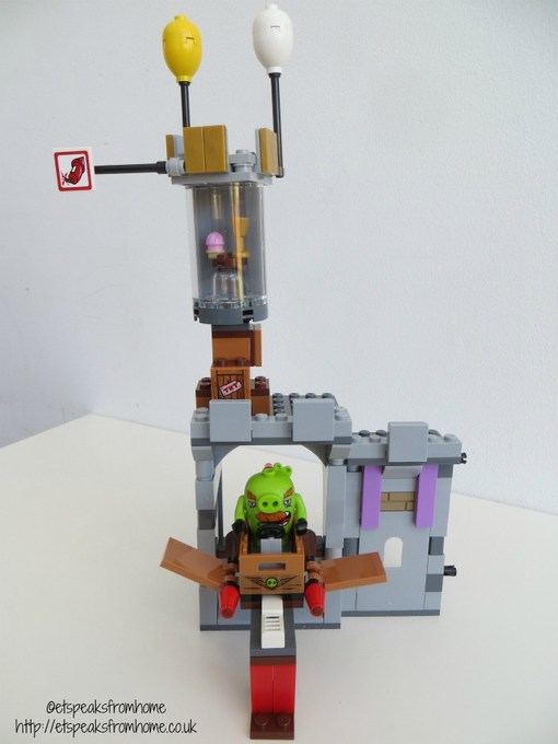lego king pig castle spinning tower