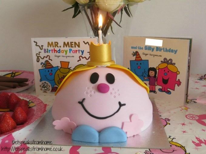 mr men birthday party celebration