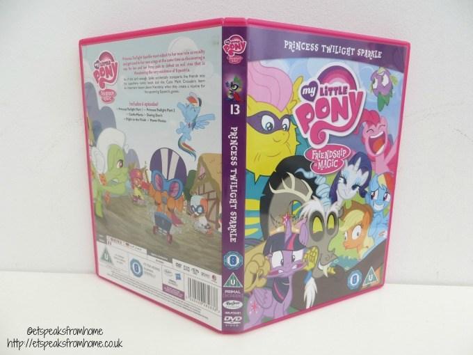 my little pony princess twilight sparkle dvd