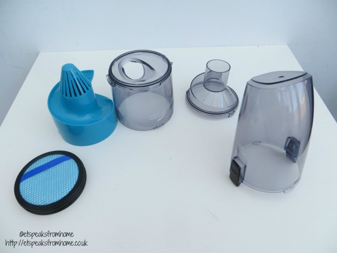 philips anti allergen powerpro aqua container