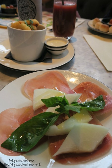 pizza express tamworth Prosciutto e Melone