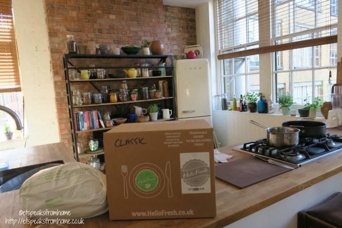 Jamie Oliver Food Foundation hellofresh classic box