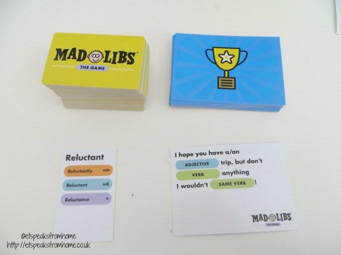 mad libs cards