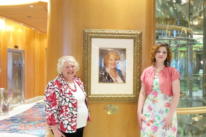 royal caribbean godmother elizebeth hill