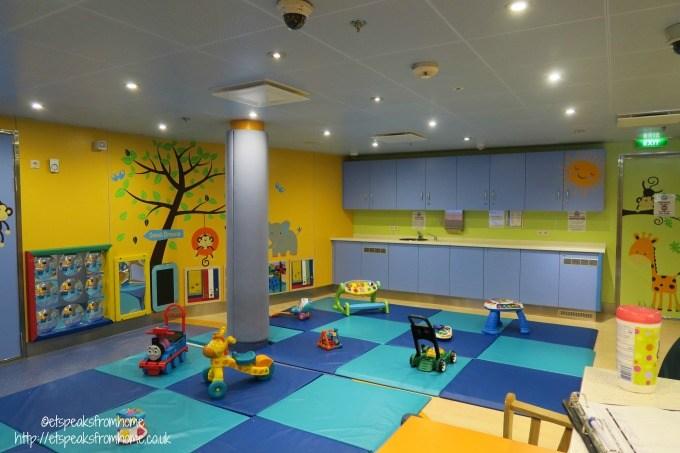 royal caribbean nursery room