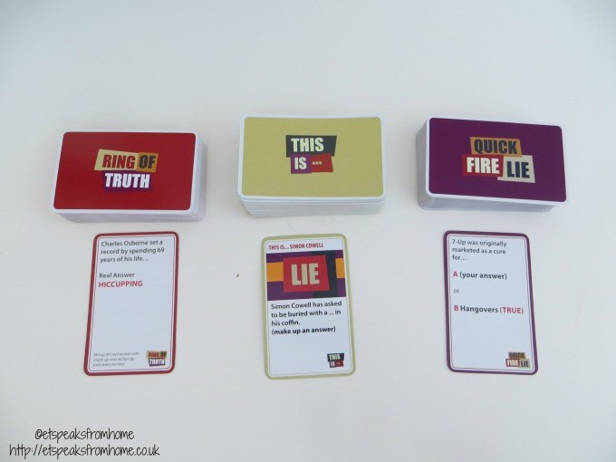 would i lie to you cards