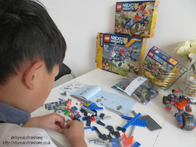 LEGO NEXO Knights building
