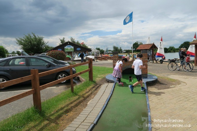 bosworth water park crazy golf