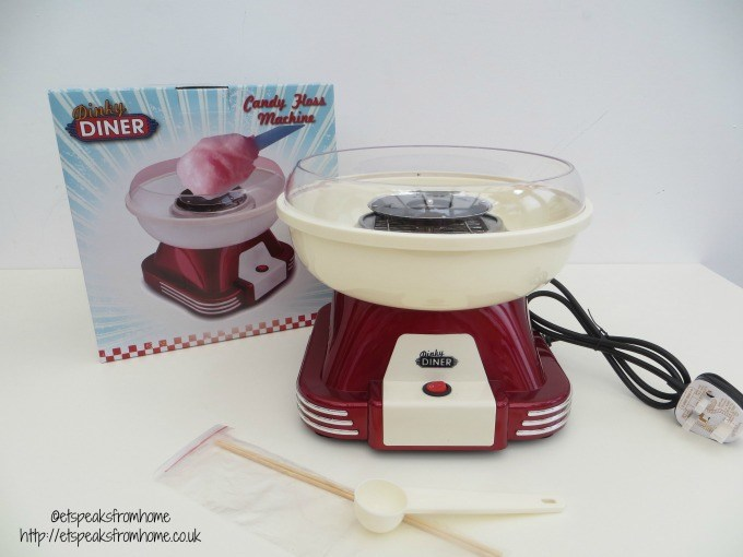 dinky diner candy floss machine fathers day gift liberty trading