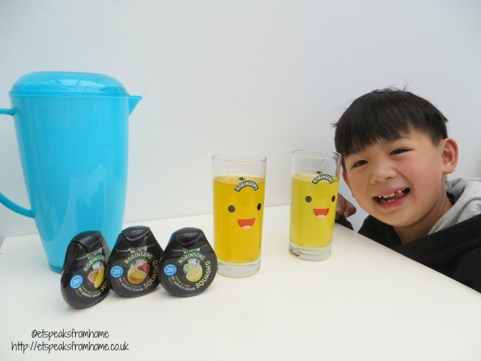 robinsons enjoy drinking more water