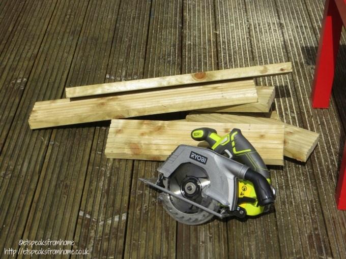 ryobi circular saw decking
