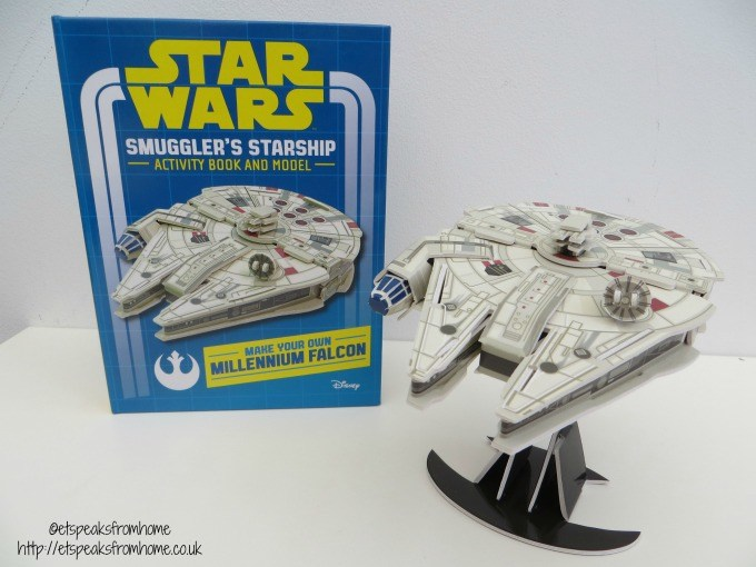 star wars smuggler's starship model
