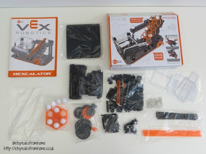 Hexbug VEX Robotics Hexcalator Ball Machine material