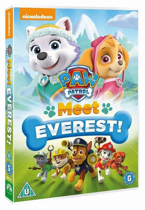paw patrol meet everest dvd