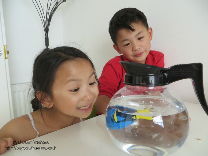 robofish finding dory coffee pot
