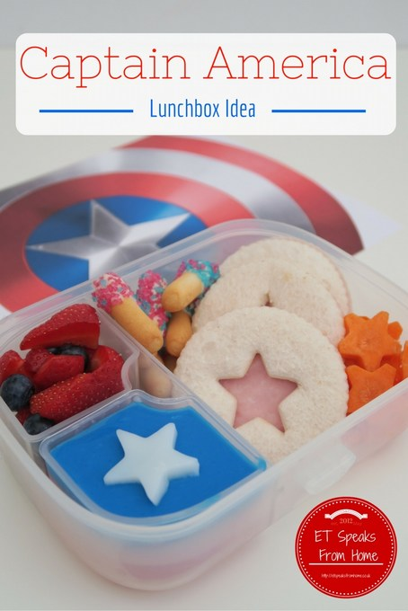 Captain America Civil War Lunchbox Idea