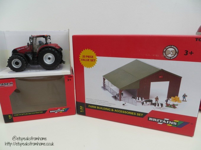 britains farm building set and tractor