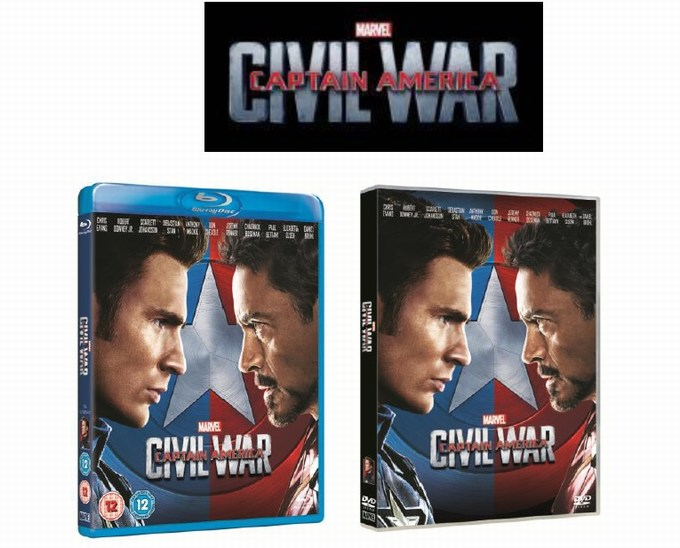 captain amercia civil war blu ray
