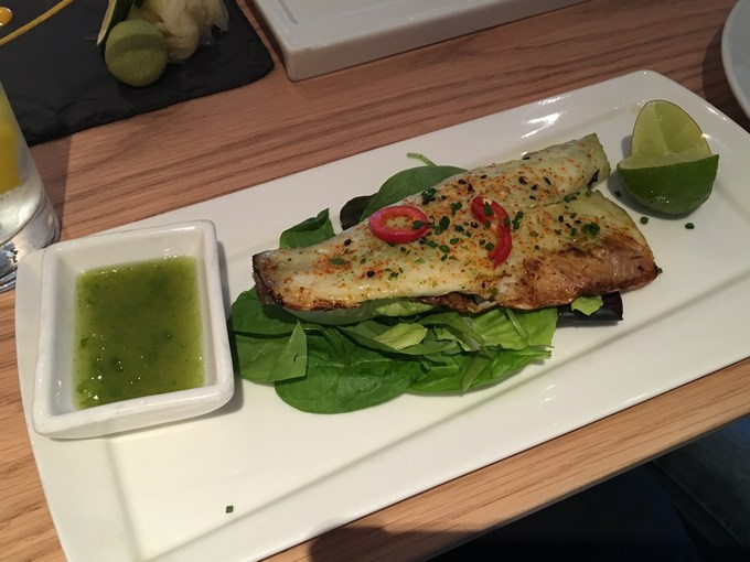 chi kitchen seabass chilli and lime